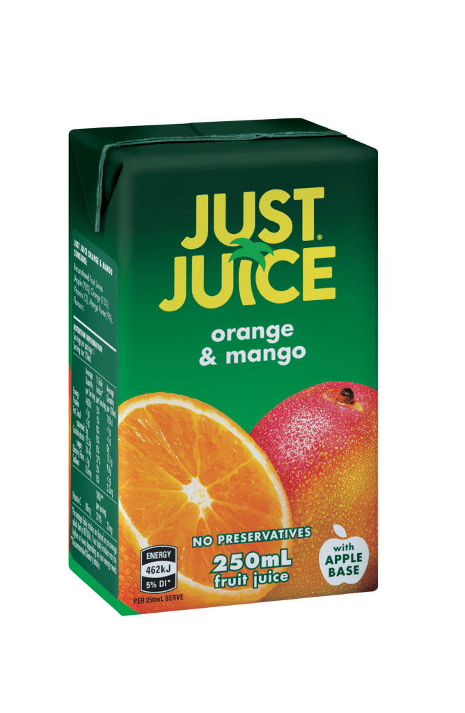 Just Juice Orange & Mango 250ml