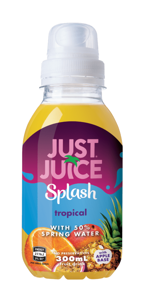 Just Juice Splash Tropical 300ml