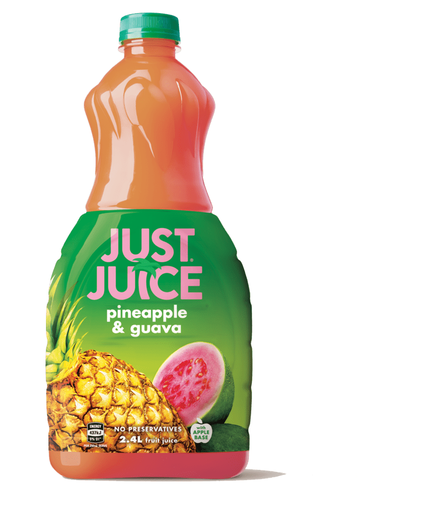 Just Juice Pineapple Guava - 2.4L