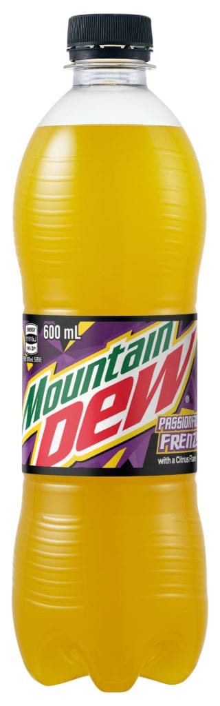 Mountain Dew Passionfruit
